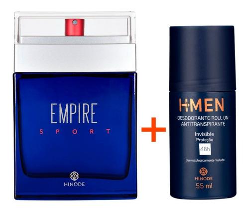 Imagem 1 de 9 de Perfume Empire Sport + Antitranspirante Roll-on H-men