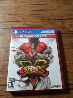 Street Fighter 5 Playstation 4 Ps4 Buen Estado !!