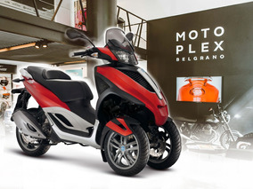 Piaggio Mp3 Yourban 300 En Color Negro