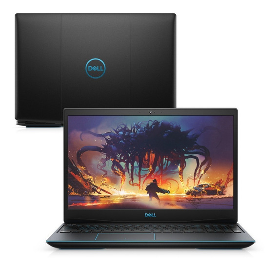 Notebook Pc Gamer Dell G3 Core I7 8gb 512gb Ssd Gtx Linux