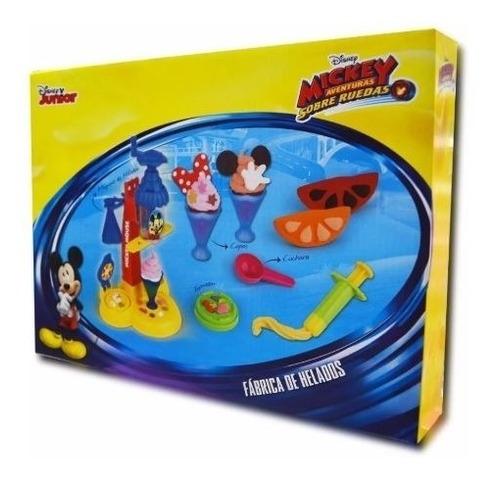 Imagen 1 de 3 de Juego De Masas - Fabrica De Helado - Mickey - Disney