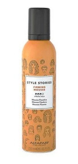Mousse Fijación Fuerte Firming Alfaparf Style Stories 250 Ml
