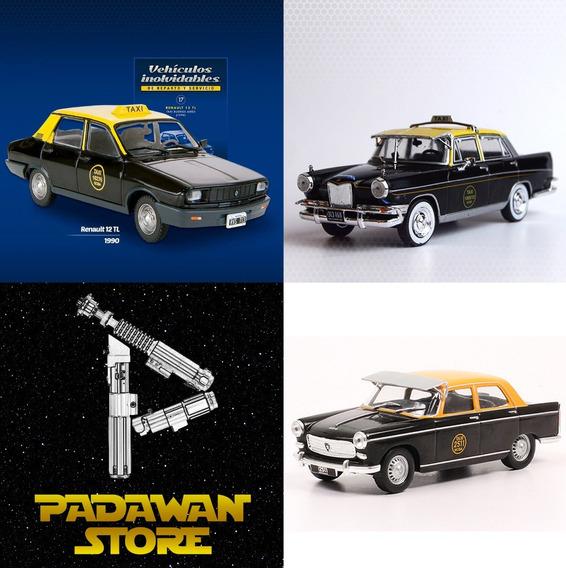 Taxis Buenos Aires. Peugeot 404. Siam Di Tella. Renault 12