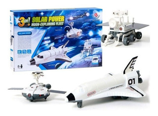 Juguete Educativo Kit Solar 3 En 1 Robotica Espacial