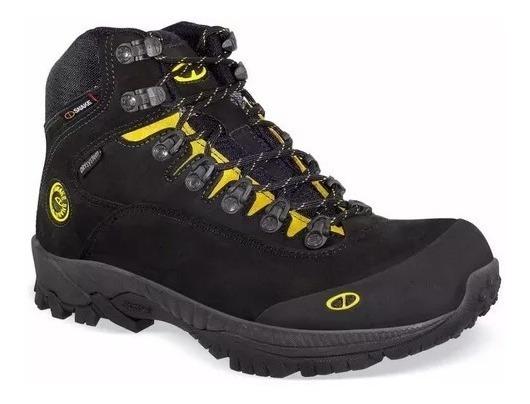 Bota Snake Zodiac 2 Masculina Preta Com Ca Trekking Hiking