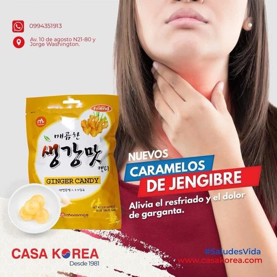 Caramelos De Jengibre Coreano