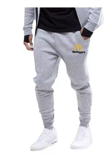 Roupa Calça Moletom Moda Masculina Jogger Tendência Swag Rap