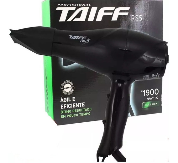 Secador Taiff Rs5 Profissional 1900w 127v