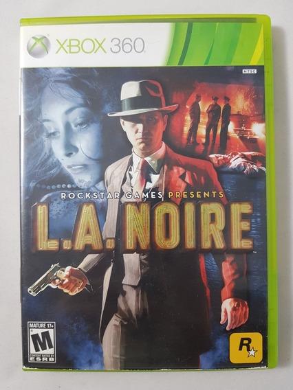 L.a. Noire Xbox 360 Mídia Física Pronta Entrega