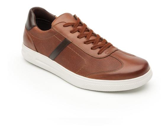 Zapato Tenis Flexi Caballero 401203 Tan Casual