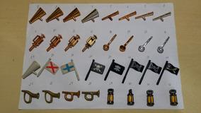 Playmobil Piratas. Duas Unidades. Frete A 13 Reais.