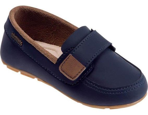Sapato Mocassim - Azul Marinho 22 Ao 27 - Pimpolho 32938c