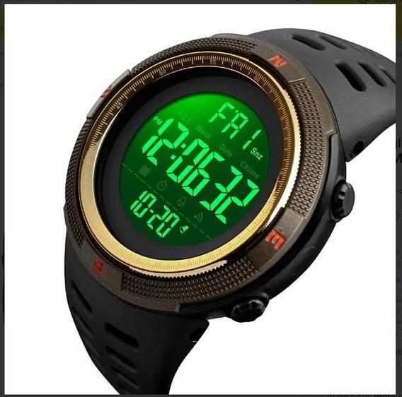 Relógio Digital Original Skmei 1251 C/ Caixa Acrílica