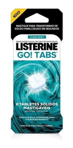Listerine Go! Tabs 8 Unidades