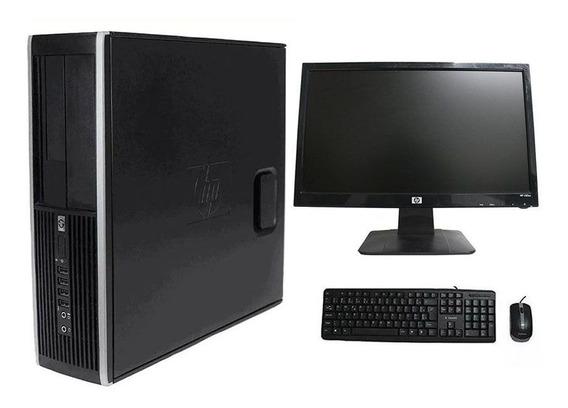 Computador Hp Elite 8200 I7 8gb 320gb Monitor 18 Polegadas