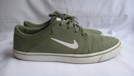 Tênis Nike Sb Portmore Canvas Original Verde - Tam: 41