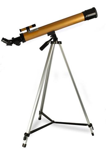 Telescopio Astronomico Refrator Profiss 50/100x Completo