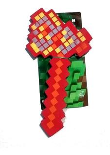 Arma Goma Eva Hacha Minecraft 4 Colores A Eleccion