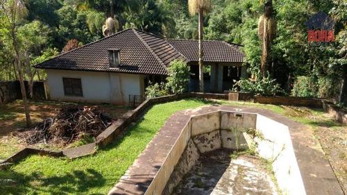 Chácara Com 2 Dormitórios À Venda, 6000 M² Por R$ 450.000,00 - Jardim Cinco Lagos - Mairiporã/sp - Ch0366