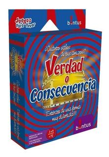 Verdad Consecuencia Juego Para Llevar Bontus July Toys