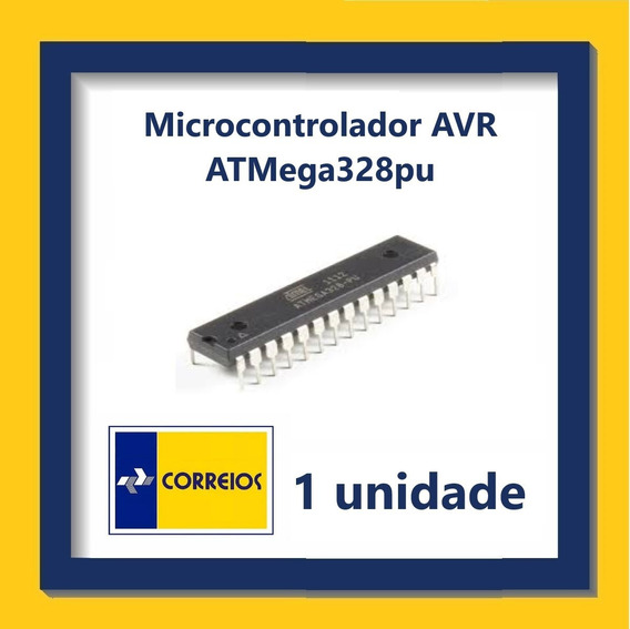 Microcontrolador Avr Atmega328pu