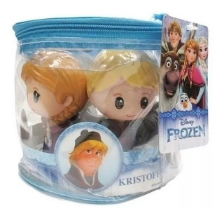 Set 5 Muñecas Frozen Original Disney Juguete Tipo Funko Pop