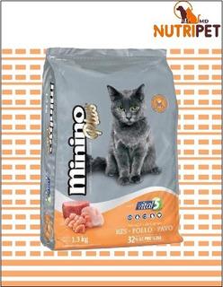 Minino Plus 10 Kg Alimento Para Gato