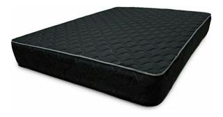 Colchon Semiortopedico Negro 140x190 Doble