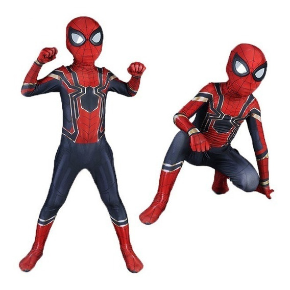 Disfraz Niño Spiderman Homecoming Iron-spider Lycra