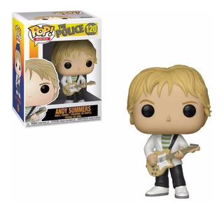Funko Pop The Police Andy Summers 120 Nuevo Original Stock