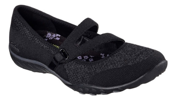 Zapato Skechers Relaxed Fit - Mujer - Color Negro - Nº 38.5