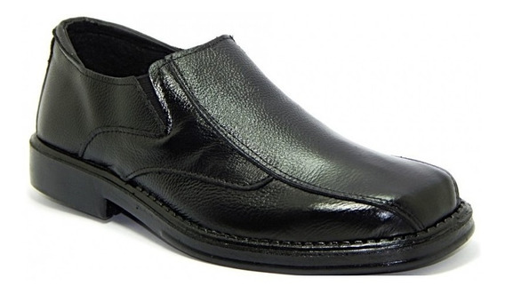 Sapato Masculino Abc 510 Social Couro Legítimo - Preto