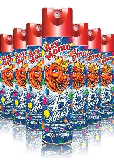 Nieve Espuma Rey Momo 400 Cm3 - Carnaval X 12 U - Lollipop