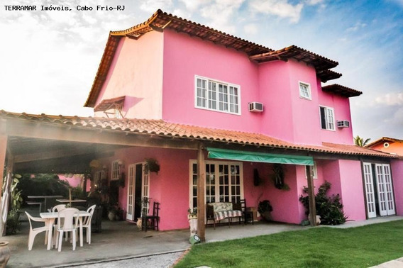 Casa Para Locação Em Cabo Frio, Praia Do Foguete, 7 Dormitórios, 6 Suítes, 10 Banheiros, 6 Vagas - Afr 037 E_2-1025606