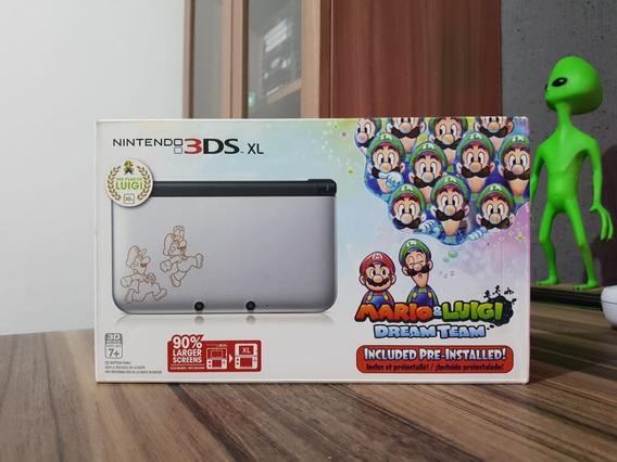 Console Nintendo 3ds Xl Mario E Luigi Ed Especial Lacrado