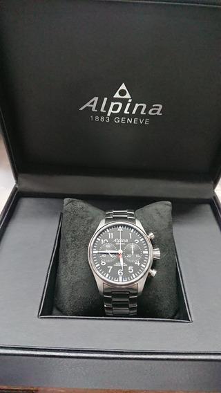 Reloj Alpina Geneve Automático Chronograph Al860x4sp6 0