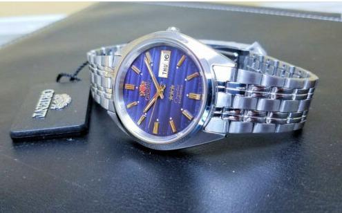 Relógio Pulseira De Aço Automático Orient 3 Star Fab0000dd9