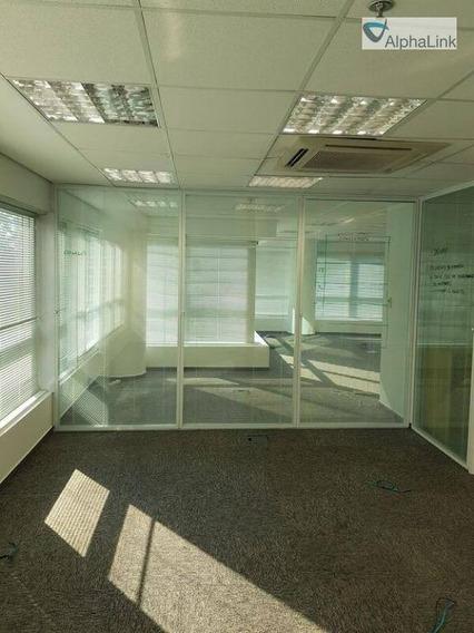 Sala Para Alugar, 227 M² Por R$ 9.000,00/mês - Empresarial 18 Do Forte - Barueri/sp - Sa0254