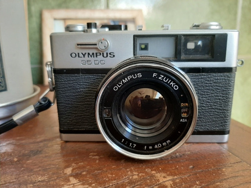 Câmera Analógica Olympus 35 Dc