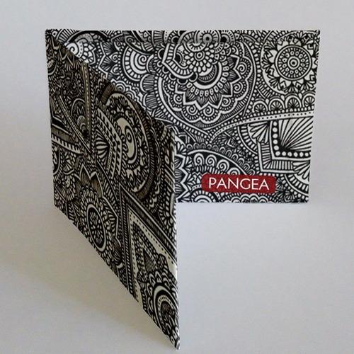 Imagen 1 de 3 de  Pangea Mandala   Billetera De Tyvek