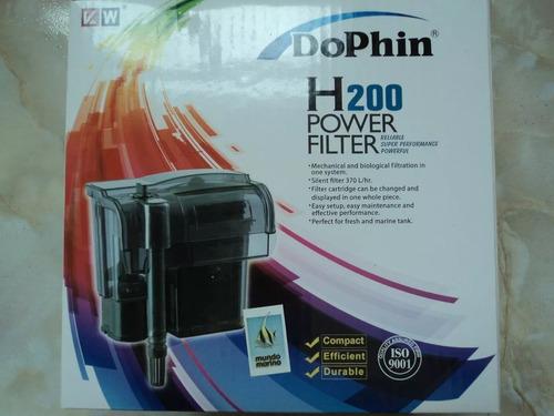 Filtro De Cascada Dolphin H-200 P/acuarios 70-150 Litros Env