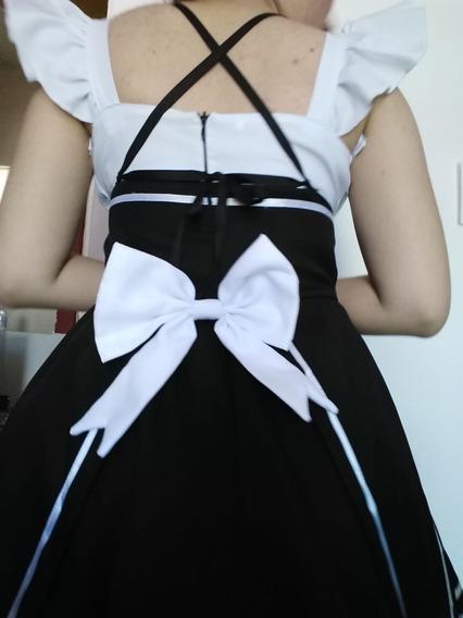 Vestido Maid Cosplay