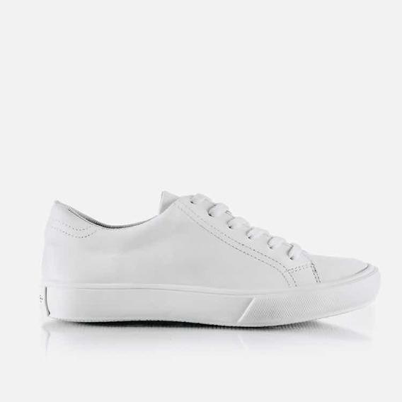 Zapatillas Mujer Urbanas Cuero Blancas Sneakers Barcelona
