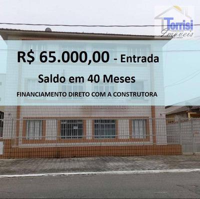Kitnet Em Praia Grande, Sala,cozinha, Wc Social No Forte Kn0130 - Kn0130