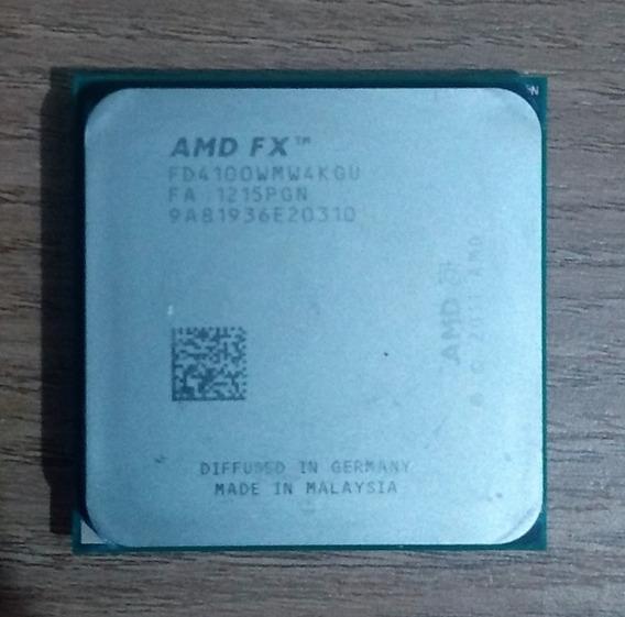 Processador Amd Fx 4100 Quadcore 3.6ghz 12mb Sk Am3+ Cooler