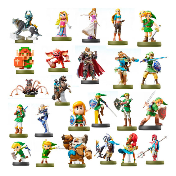 Amiibo Zelda Breath Of The Wild E Awakening Kit C/ 24 Cards