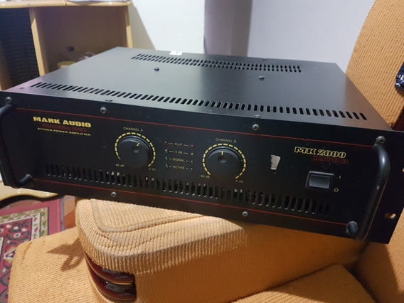 Potência Mark Áudio Mk 2000