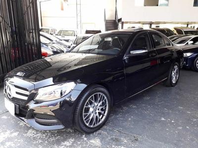 Blindado Mercedes-benz C200 Avantgarde 2015 Preta Avallon