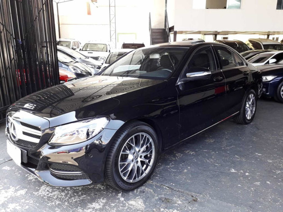 Blindado Mercedes-benz C200 Avantgarde 2015 Preta Avallon