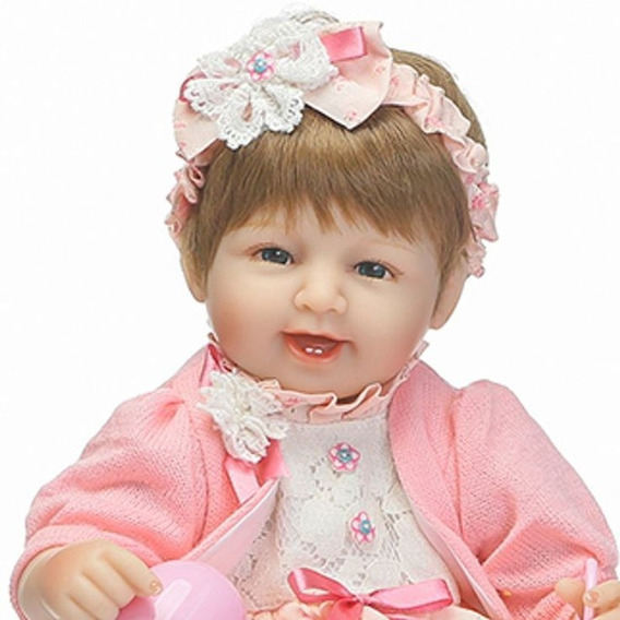 Boneca Bebe Reborn Silicone Menina Weew Cobertor